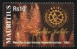 Maurice (Mauritius) 2003 Microscope, Chemistry, Sugar Industry, Agriculture (1v) MNH (M-11) - Mauritius (1968-...)