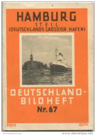 Nr. 67 Deutschland-Bildheft - Hamburg 1. Teil - Deutschlands Grösster Hafen - Hamburg & Bremen