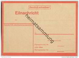 Postkarte - Lebenszeichenkarte - Eilnachricht - 1940er Jahre - Deutschland