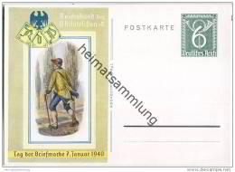 Postkarte - Tag Der Briefmarke 1940 - Reichsbund Der Philatelisten EV - Briefe U. Dokumente