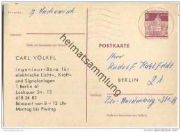 Postkarte - Berlin - Beidseitiger Zudruck Telefoneinrichtung - Gelaufen 1967 - Berlin (West)