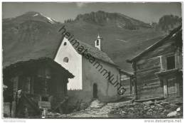 Schweiz - Wallis - Binntal - Kapelle Imfeld Ob Binn - Foto-AK 60er Jahre - VS Valais