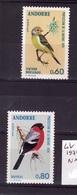 ANDORRE Lot 1974 N 240-241  N**  C305 - Nuovi