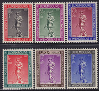 Luxembourg 1937 Child Care, MNH (**) Michel 303-308 - Luxembourg