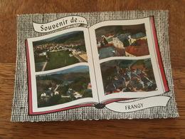 Souvenir De Frangy - Vues Aériennes - Bon état - DA - Frangy