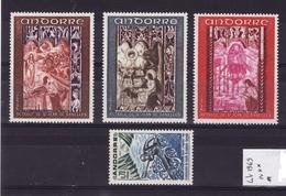 ANDORRE Lot 1969  N**  C315 - Andorra Francese