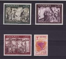 ANDORRE Lot 1968  N**  C316 - Andorra Francese