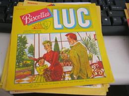 BUVARD PUBBLICITARIA BISCOTTES LUC N.11 - Biscottes