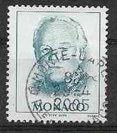 2003 MONACO 2182a Oblitéré, Rainier III, Variété, Côte 15.00 - Monaco
