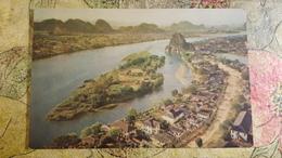 River Lichiang- CHINA Postcard   - Old PC 1950s - Cina