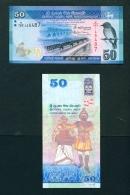 SRI LANKA  -  2016  50 Rupees  UNC Banknote - Sri Lanka