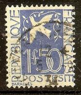 TIMBRE YT N°294 COLOMBE De La PAIX Oblitéré - Oblitérés