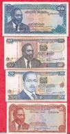 Kenya 8 Billets Dans L' état - Kenya