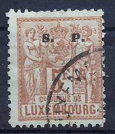 Luxemburg Dienst 46 Gest. - Dienstpost