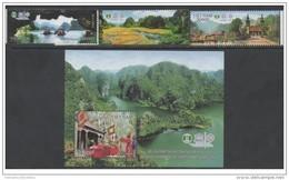 Vietnam Viet Nam MNH Stamps & Souvenir Sheet 2015 : Unesco World Heritage (Ms1053) - Viêt-Nam