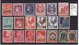 ALGERIE Lot N** C343 - Algérie (1924-1962)