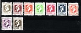 ALGERIE Serie 1944 N** C344 - Algérie (1924-1962)
