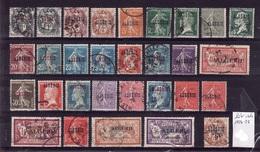 ALGERIE Lot 1924-25 Obli C349 - Algérie (1924-1962)