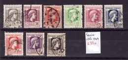 ALGERIE Serie 1944 Obli C350 - Algérie (1924-1962)