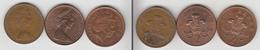 Grande Bretagne 2 Pence 1978 + 1984 +  2006 - 1902-1971 : Monnaies Post-Victoriennes