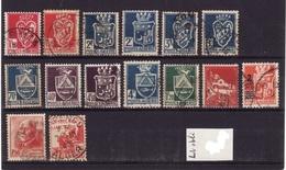 ALGERIE Lot  Obli C356 - Algérie (1924-1962)