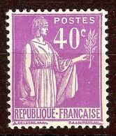 TIMBRE PAIX YT N°281 NEUF Avec GOMME* - Frankrijk