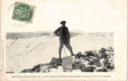 CPA Massif De La Vanoise IV.Sommet Du Dome De Chasseforét (723801) - France