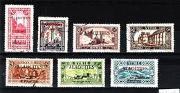 ALAOUITES  Lot Obli C363 - Alaouites (1923-1930)