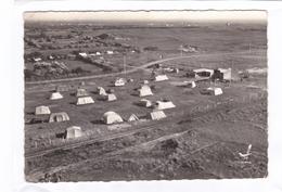 (CPSM : 15 X 10,5)  -   EN  AVION  AU-DESSUS  DE ... 1.  St-JEAN De La RIVIERE  -  Le Camping Du Pré  Normand - Altri Comuni