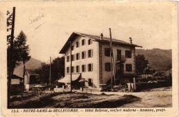 CPA Notre Dame De Bellecombe Hotel Bellevue, Confort Moderne (723893) - Autres Communes
