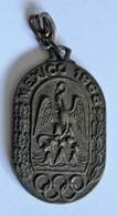 Porte Clés 1968 Jeux Olympiques D'été Mexico Armagnac Sempé Sabazan Gers JO Sports - Habillement, Souvenirs & Autres