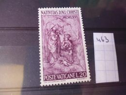 VATICAN YVERT N° 463 - Oblitérés