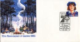 Ref. 266027 * USED *  - AUSTRALIA . 1985. 75th ANNIVERSARY OF THE SCOUTS. 75 ANIVERSARIO DEL ESCULTISMO - Mint Stamps