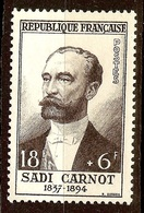 TIMBRE Sadi CARNOT YT N°991 NEUF Sans GOMME - France