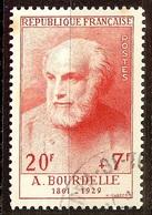 TIMBRE BOURDELLE YT N°992 Oblitéré CàD - France