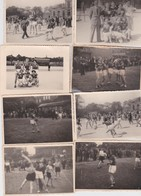 MARCHIENNE-AU-PONT-LOT DE + - 30 PHOTOS-FOOTBALL?-DAMES-VOLLEYBALL?-PHOTOGRAPH-BAUGNIET-ANNEES'50- VOYEZ LES 4 SCANS - Sports
