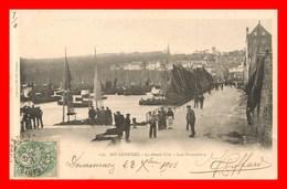 Douarnenez * Le Grand Pont De 1901  ( Scan Recto Et Verso ) - Douarnenez