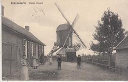 Tessenderlo - Oude Molen En Omgeving - Geanimeerd - 1910 - Uitg. J. Erschiert & J. Feyen Tessenderloo - Molinos De Viento