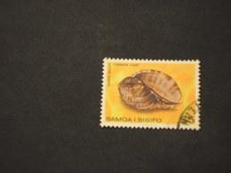 SAMOA - 1980 CONCHIGLIA 2 D. - TIMBRATO/USED - Samoa