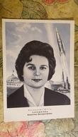 First USSR Woman - PILOT-COSMONAUT - ASTRONAUT RARE 1963  -  - Tereshkova - Raumfahrt