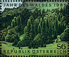 Ref. 120714 * NEW *  - AUSTRIA . 1985. YEAR OF THE FOREST. AÑO DEL BOSQUE - 1945-.... 2nd Republic