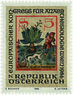 Ref. 80730 * NEW *  - AUSTRIA . 1986. 7th EUROPEAN  ANAESTHESIA CONGRESS. 7 CONGRESO EUROPEO DE ANESTESIOLOGIA - 1945-.... 2ème République