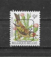 België Buzin Y&T Nr° PRE 832** - Préoblitérés