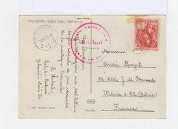 Carte Postale Avec Timbre Oblitéré. Cesloslovensko. (555) - Tchécoslovaquie