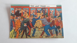 A-1258, Postcard - The Last Train From - Comics