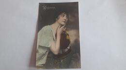 A-1259, Postcard - Woman Portrait - Photographs