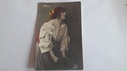A-1260, Postcard - Woman Portrait - Photographs
