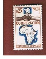 FRANCIA  (FRANCE) - SG 1664 -  1964 COOPERATION AFRICA  - MINT ** - Ungebraucht