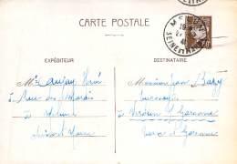 Entier Postal - Petain 80c Oblit Cad 1941 Melun - 1941-42 Pétain