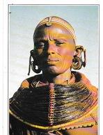 Kenya. Femme Samburu. - Kenya